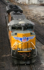 UP 8353 - SD70ACe in UP Neff Yard